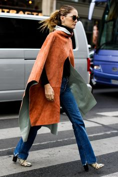 Great cape // #pfw2015