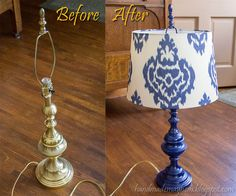 Lamp Revamp by handmademayhem,