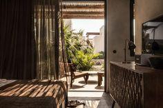 Casa Cook Kos: A Relaxing Beachside Hotel on a Greek Island (Gravity Home) Kos, Modern Restaurant, Restaurant Bar, Wabi Sabi, Hotel Grecia, Casa Cook Hotel, Interior Styling, Interior Design, Brown Interior