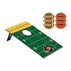 ECU East Carolina University Portable Cornhole Game -  Bean Bag Toss
