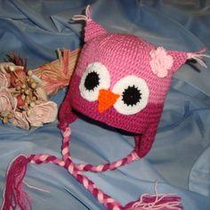 Ja spravím sovičkovú čiapku za 10,70€   Jaspravim.sk Crochet Hats, Bird, Knitting, Fashion, Knitting Hats, Moda, Tricot, Fashion Styles, Birds