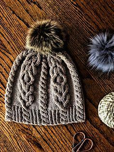 Ravelry: Mountain Trail Hat pattern by Sandra C Knitting Stitches, Knitting Patterns Free, Knitting Yarn, Knit Patterns, Baby Knitting, Easy Crochet Hat, Knit Crochet, Wooly Hats, Knitted Hats