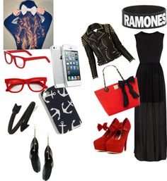 """""""rock"""" by beatriznogueirastyles ❤ liked on Polyvore"""