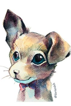dog illustration Dog Illustration, Teddy Bear, Dogs, Animals, Fictional Characters, Art, Art Background, Animales, Animaux