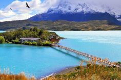2. Hike in Torres del Paine National Park, Patagonia
