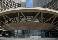 """Saucer"" at Toronto City Hall, image by Vik Pahwa"