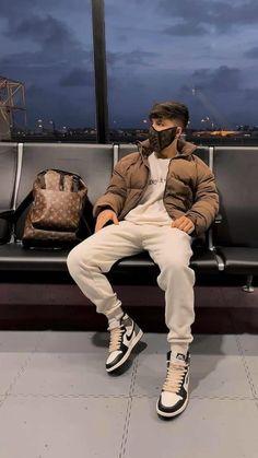 Street Style Outfits Men, Black Men Street Fashion, Trendy Mens Fashion, Men Street Styles, Teen Guy Fashion, Mens Fashion Week, Dope Outfits For Guys, Swag Outfits Men, Stylish Mens Outfits