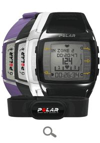 Polar FT60 Fitness Heart Rate Monitors (in various colors for men and women)