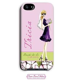 Bride To Be Girl Blonde IPhone 5 Case