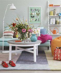 Vårfint hemma! Färg & mönster sätter stilen | Inredning, tips om möbler, trädgård, heminredning, bygg | Expressen | Expressen