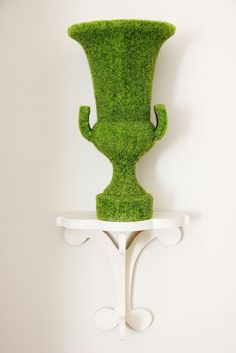 Moss Urn....great for spring decorating thistlewoodfarms.com