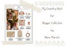My work for Blogger Collection by Blanc Mariclò