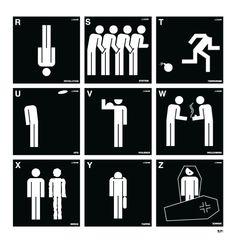 LexICON A-Z / Lex Drewinski Ufo, Vectors, Posters, Icons, Symbols, Poster, Ikon, Billboard