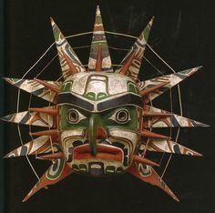 White Dog Blog Kwakiutl Sun Mask