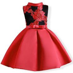 Vestido Infantil Festa Luxuoso Detalhado Frete Grátis!!!