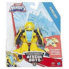a546f0b783f5 New PLAYSKOOL HEROES TRANSFORMERS RESCUE BOTS BUMBLEBEE Robot to Jet Plane  #bumblebeemovie #bumblebee #