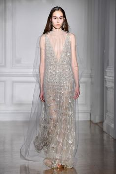 The Most Beautiful Wedding Gowns from Spring Couture Week Who said your wedding dress can't come straight from the runway?! We rounded up some of the most beautiful wedding looks we saw at Couture fashion shows. Click through for your wedding dress inspiration and amazing bridal style! This gown is by Valentino!