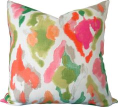 Designer Decorative Pillow Cover-Multicolored by KLineDeco on Etsy