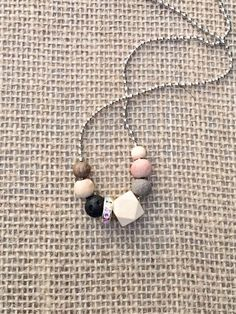 Excited to share this item from my shop: Wood and Lava Aromatherapy Necklace, Adjustable Necklace, Diffuser Necklace , Essential Oil Necklace Healing Bracelets, Gemstone Bracelets, Aromatherapy Jewelry, Boho Boutique, Best Oils, Diffuser Necklace, How To Make Beads, Natural Gemstones, Lava