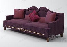 Purple Furniture, Sofa Furniture, Furniture Design, Chaise Sofa, Upholstered Sofa, Wooden Sofa Designs, Victorian Sofa, Luxury Home Furniture, Bedroom Bed Design