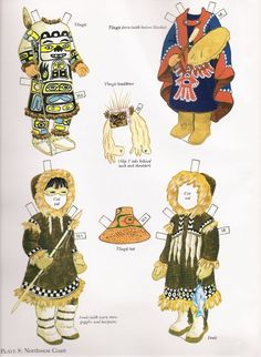 North American Indian Girl & Boy Paper Dolls / Kathy Allert, Dover (8 of 10)