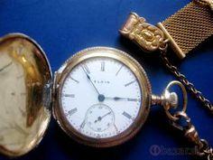 dámske pozlátené vreckové hodinky z 1905