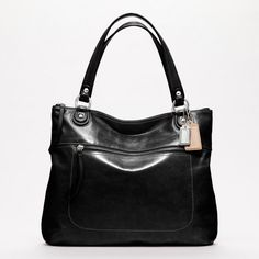 Coach :: Poppy Leather Glam Tote