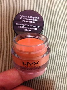 This NYX CCC is amazing!  NYX Color Corrector Concealer is AWSOME covers all brown spots,post acne marks flawlessly without making your foundation look gray over it  Plus it's only $5 online as opposed to make up forever which is always out of stock and 7 times more expensive ! Love Love Love!