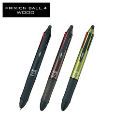 Convenient Erasable Pen FRIXION BALL 4 Wood (Multi) (0.5mm) LKFB-3SEF, can buy direct from Japan.