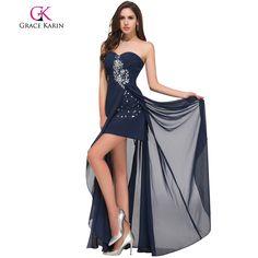 Long Evening Dress Short Front Long Back Special Occasion Dresses