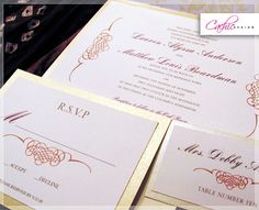 Timeless Style Wedding Invitations | Cachic Design