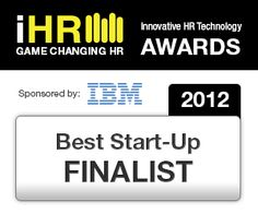Best Start-Up Finalist Award at the HR Tech Europe 2012 iHR competition Game Change, Amsterdam, Best Start, Competition, Innovation, Awards, Technology, Europe, Tech