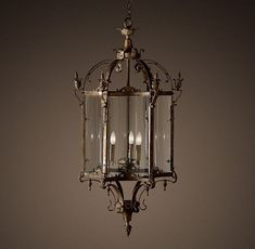 Garten Lampe-im Retro Stil-des-19 Jahrhunderts