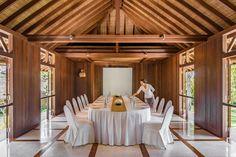 COMO-Shambhala-Estate_Meeting-room_boardroom-setup-(with-staff) Ubud, Hotels And Resorts, Bali, Spa, Gallery, Room, Home, Bedroom, Rum