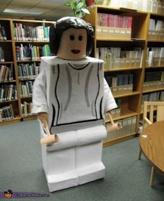 Erin: Body-Cardboard and felt Head-Paper Mache-Form.propane tank hands-Wood and pvc pipe.