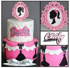 Barbi centro de torta