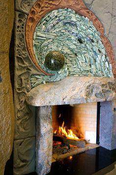 Fireplace by Andreas Kunert www.AncientArtofStone.com