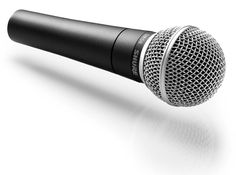 The Shure SM58. The only live performance vocal mike you'll ever need. Seriously.