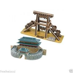 Paper Toy Scale Model Kit for Kids Adult - Joseon`s Science & Jung Yak Young