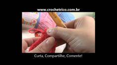 Crochê - Guia de Pontos - Aula 06 - Ponto Picô