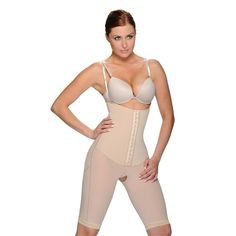 Nip away a few inches from your waistline. Wear these comfortably all day long under most types of clothing. Escape from your old silhouette and embrace your new shape. Smooths abdomen, waist, thighs and back.