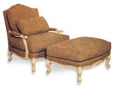 Shop for Fairfield Chair Company Verona Lounge Chair, and other Living Room Lounge Chairs at Whitley Furniture Galleries in Raleigh, NC. Living Room Lounge, New Living Room, Large Furniture, Furniture Decor, Victorian Chair, Chair And Ottoman Set, Elegant Living Room, Family Room
