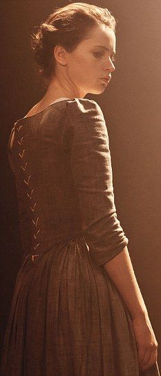 Character inspiration - brown hair, brown dress
