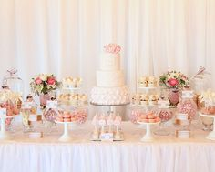 Gorgeous sweets table