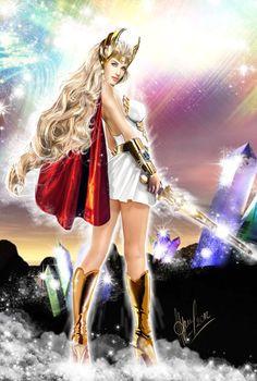 Comic Book Characters, Comic Books Art, Female Characters, Comic Art, Fantasy Art Women, Fantasy Girl, Thundercats, Hee Man, Female Superhero