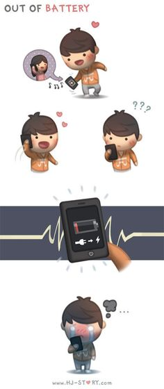 Love is.... this is definitely me when Ian's gone and I miss a call. Anxiety still gets me 4 years after his deployment!