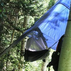 Air Bivy Extreme Shelter - it's a hammock, it's a tent, it's brilliant!