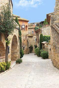 Peratallada, Girona, Spain