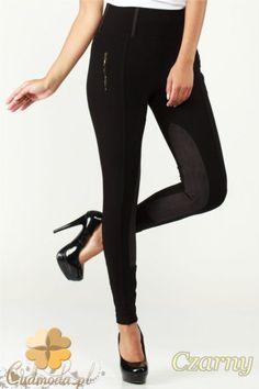 Dopasowane w talii i nogawkach spodnie bryczesy damskie marki Paulo Connerti.  #cudmoda #moda #styl #spodnie #legginsy #leggings #leginsy #clothes #hosen