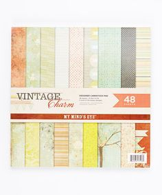 Another great find on #zulily! Vintage Charm Paper Pad by My Mind's Eye #zulilyfinds